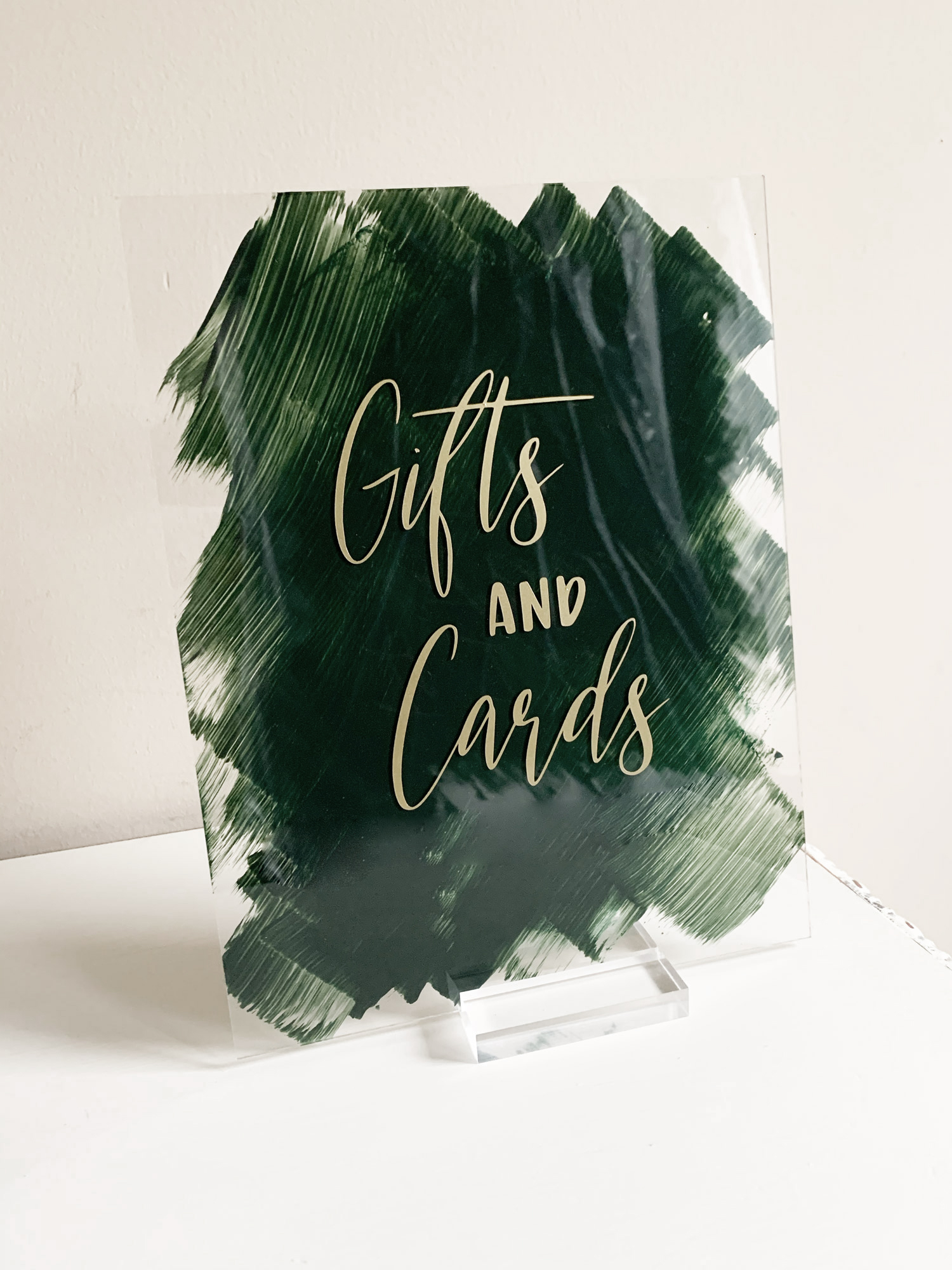 Acrylic Gifts & Cards Sign
